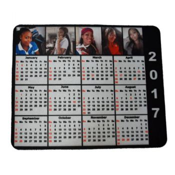 Personalised Mouse Pad Photos Calendar